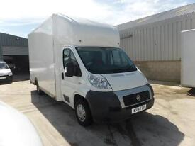 FIAT DUCATO 2.3 LOW LOADING 14ft6 BOX 130BHP HORSE BOX CONVERSION