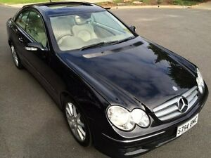 2006 Mercedes-Benz CLK500 C209 MY06 Elegance 7 Speed Automatic G-Tronic Coupe Clarence Gardens Mitcham Area Preview