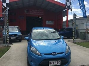 2010 Ford Fiesta WS CL Blue 5 Speed Manual Hatchback Clontarf Redcliffe Area Preview