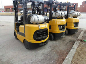 2004 Caterpillar Forklift 5000LB Capacity with 3stage mast