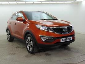 2014 Kia Sportage CRDI KX-3 SAT NAV Diesel orange Manual