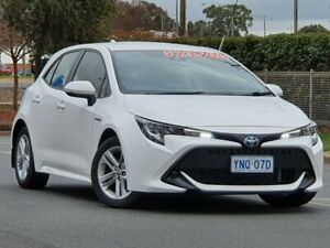 2019 Toyota Corolla ZWE211R Ascent Sport E-CVT Hybrid White 10 Speed Constant Variable Hatchback Wodonga Wodonga Area Preview
