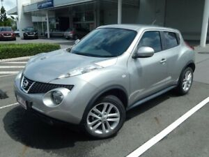 2013 Nissan Juke F15 MY14 ST 2WD Silver 1 Speed Constant Variable Hatchback North Lakes Pine Rivers Area Preview