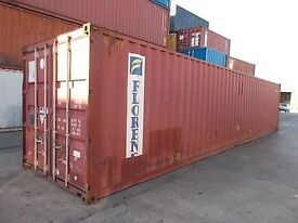 40' CONTAINER CARGO-WORTHY GLASGOW AREA