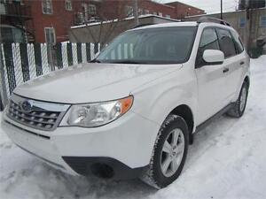 2012 SUBARU FORESTER 2.5X AWD/ FINANCEMENT MAISON $58 SEMAINE