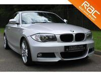 2011 11 BMW 1 SERIES 2.0 123D M SPORT 2D AUTO 202 BHP DIESEL