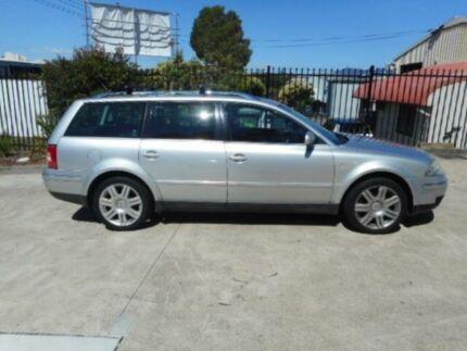 2002 Volkswagen Passat Silver 5 Speed Tiptronic Wagon Macquarie Hills Lake Macquarie Area Preview