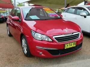2015 Peugeot 308 T9 Active Red 6 Speed Sports Automatic Hatchback Minchinbury Blacktown Area Preview