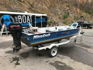 ***CHEAP CHEAP CHEAP***1997 MIRRORCRAFT ALUMINUM FISHING BOAT