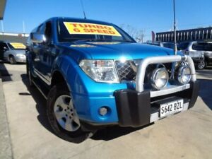 2008 Nissan Navara D40 ST-X Blue 6 Speed Manual Utility Enfield Port Adelaide Area Preview