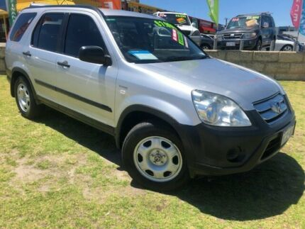 2006 Honda CR-V RD MY2006 4WD Silver 5 Speed Automatic Wagon Wangara Wanneroo Area Preview