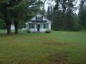 FISHING AND HUNTING OR LESURE. 2 bedroom basement app on beach.