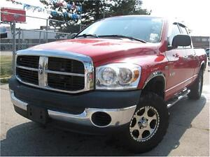 2008 Dodge Ram 1500 ST HEMI 4X4 WITH LOTS OF UPGRADES CERTIFIED