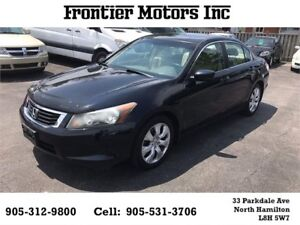 2008 Honda Accord Sdn EX-L with navigation