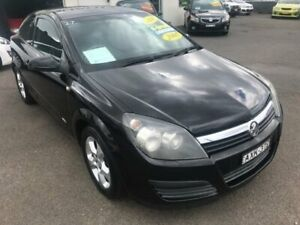 2005 Holden Astra AH MY05 CDX Black Manual Coupe Lansvale Liverpool Area Preview
