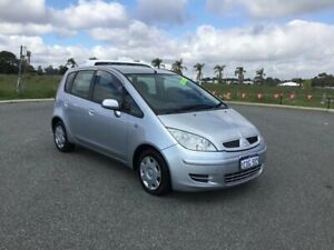2005 Mitsubishi Colt RG LS Silver Continuous Variable Hatchback Wangara Wanneroo Area Preview