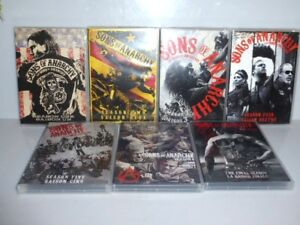 SONS of ANARCHY Dvd 1 2 3 4 5 6 Final Season Complete Series
