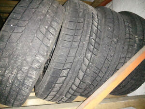 195/60 R15 winter tires with rims, very good condition