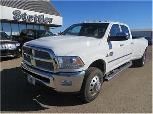 2013 RAM 3500 Laramie Longhorn 4x4 DIESEL!  HEATED LEATHER SEATS