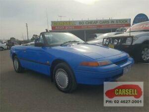 1993 Ford Capri SC Barchetta Blue 5 Speed Manual Convertible Campbelltown Campbelltown Area Preview