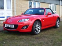 MAZDA MX-5 1.8 20TH ANNIVERSARY 2d 125 BHP 6 Months Bluechip Warranty (red) 2010