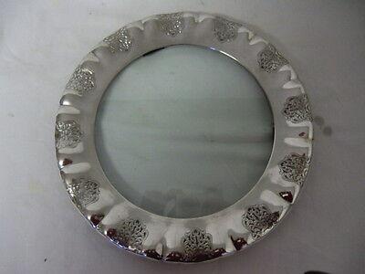 Elegantes ART DECO Schale  Tablett - mit Glas