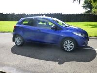 2010 MAZDA 2 TS 5 DR ONLY 19000 MILES FROM NEW