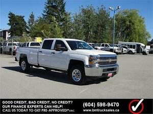 2016 CHEVROLET SILVERADO 3500HD CREW CAB LONG BOX 4X4