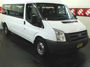 2010 Ford Transit VM MY08 12 Seat White 6 Speed Manual Bus Cardiff Lake Macquarie Area Preview