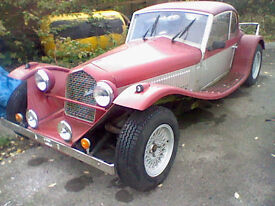 Marlin berlinetta kitcar morgan -ish replica kit car swap p/x