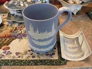 "Beautiful Large 1974 ""Wedgwood"" Christmas Mug With Papers"