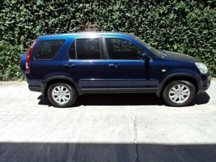 2005 Honda CR-V RD MY2005 Sport 4WD Blue 5 Speed Automatic Wagon Collingwood Yarra Area Preview