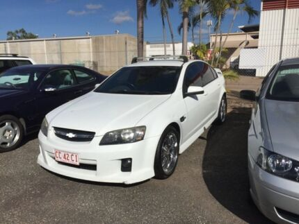 2006 Holden Commodore VE SV6 White 4 Speed Auto Active Select Sedan