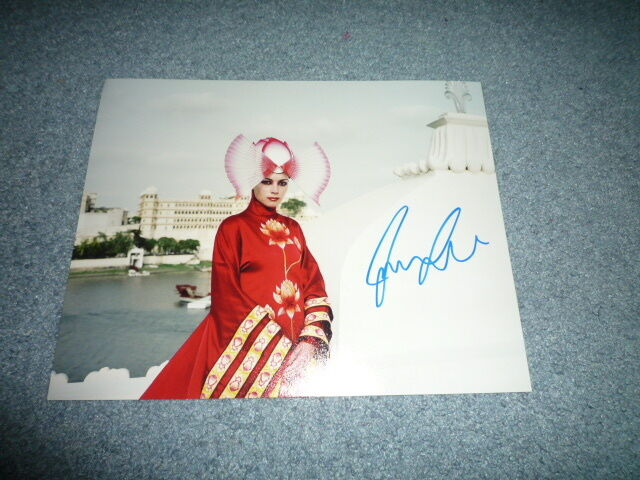 JUSTINE WADDELL  signed autograph 8x10 inch (20x25 cm) In Person THE FALL
