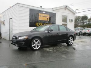 2012 Audi A4 SEDAN 6 SPEED QUATTRO 2.0T