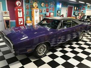 Dodge Charger RT 440 1970, plum crazy