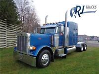 2005 PETERBILT 379L, REBUILT CAT ENGINE