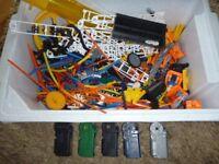 Huge Bundle K'nex Construction Toy