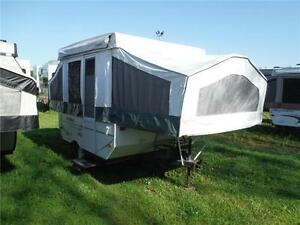 2007 Rockwood Freedom 1640LTD 8' Tent Trailer - only 1200LBS!!!