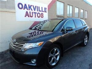 2012 Toyota Venza-LEATHER-FULL DEALER SERVICE-V6-FWD-NO ACCIDENT