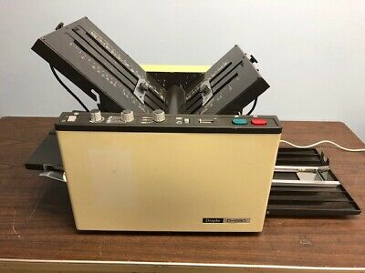 Duplo D-590 Fully Automatic Heavy-duty Tabletop Paper Folder - Compare Fp2001