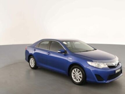 2012 Toyota Camry AVV50R Hybrid H Reflex Blue Continuous Variable Sedan Clemton Park Canterbury Area Preview