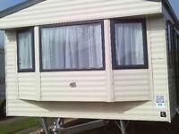 static caravan 2 bed 6 berth sited skegness