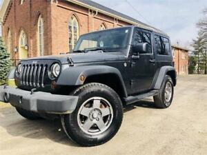 2010 Jeep Wrangler 2 Door ! Automatic + Hard Top & Soft Top