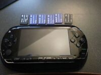 PSP with 20+ Games (32GB Memory Cards)