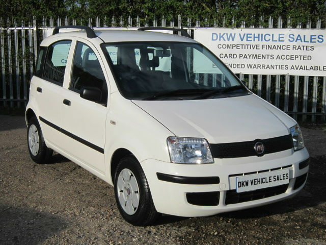 low mileage fiat panda 1 1 active eco 5dr white 2009 59 only 10 292 miles in colchester. Black Bedroom Furniture Sets. Home Design Ideas