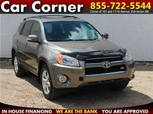 2010 Toyota RAV4 Limited $132 B/W MINT CONDITION 4WD!