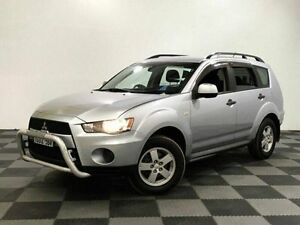 2010 Mitsubishi Outlander ZH MY11 LS Silver 6 Speed Constant Variable Wagon Edgewater Joondalup Area Preview
