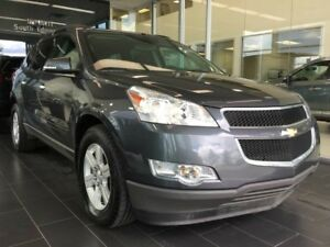 2012 Chevrolet Traverse 1LT, EIGHT SEATER, AWD, ACCIDENT FREE