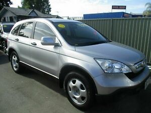 2007 Honda CR-V RE MY2007 4WD Silver 5 Speed Automatic Wagon Bray Park Pine Rivers Area Preview